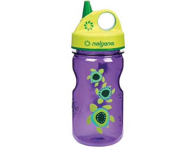 Nalgene Everyday Grip-n-Gulp Bottle 350ml Kids, violett turtles